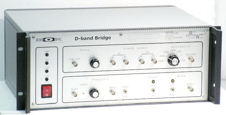 СВЧ-мост 130ГГц для ЭПР-ОДМР спектрометров