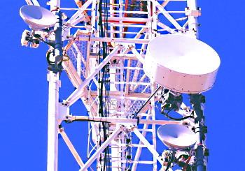 40 Гбит/c по радиомосту. Игарка-Прилуки, фото момента установки станций. 2019г