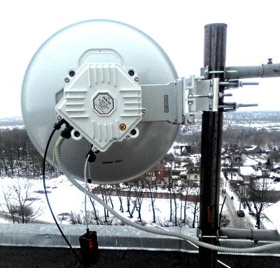 В сети «Инфо-Лан» 10-гигабитный радиомост PPC-10G