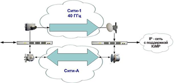 scheme IP-multicast City-1 1