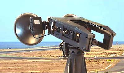 Система контроля взлетно-посадочной полосы аэропорта СКВПП-76 (76ГГц FOD-радар)