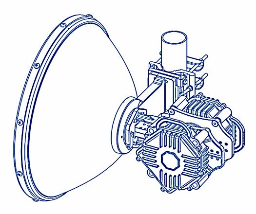 low latancy радиомост, радиорелейная линия
