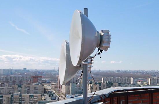 PPC-10G 10GE радиомост компании ДОК