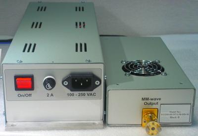 Микроволновый облучатель 197 ГГц для получения 13С пирувата методом гиперполяризации ядерных спинов (DNP)